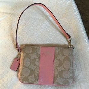 Small Pink Coach Bag Wallet